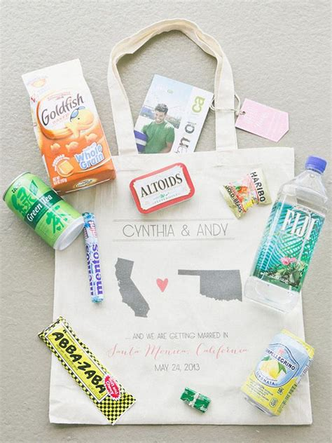 Our Favorite Wedding Welcome Bag Ideas Wedding Weekend