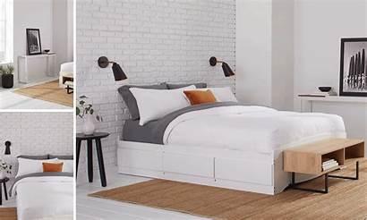 Minimalist Bedroom Decorate Interior Minimal Overstock Header
