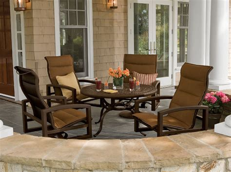 lakeside padded sling patio furniture tropitone charlotte jpg