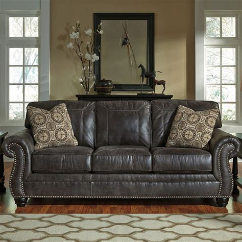 Charcoal Sofa Living Room by Breville Charcoal Living Room Set By Benchcraft 2 Review
