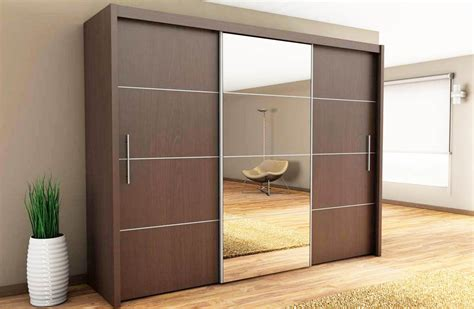 wood sliding closet doors with brown solid wooden laminate