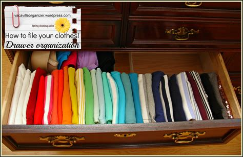Closet Drawer Organization Ideas by Drawer Organization Ideas Filing Clothes Organizing