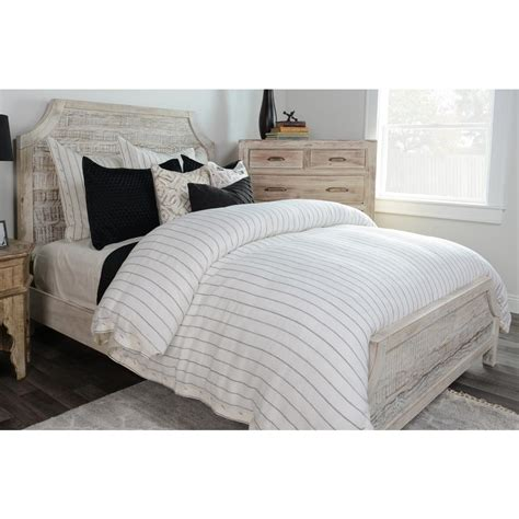 ivory duvet cover king monaco ivory stripe linen king duvet cover v021783 the