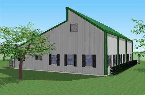 Choose a barndominium floor plans that has a really great layout and a size that will suit all of your needs and wants. Biscayne RV Port Garage   Biscayne, Rv garage, Garage