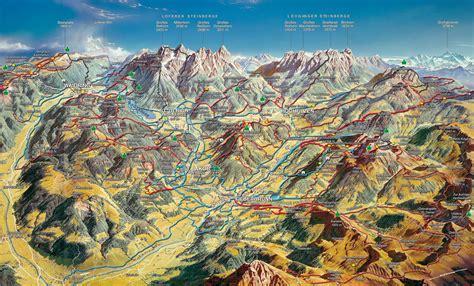 Wanderungen Tannheimer Tal Karte