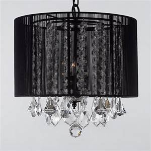 G black gallery chandeliers with shades crystal