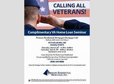 Complimentary VA Home Loan Seminar