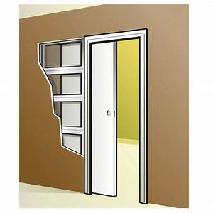 porte coulissante interieur mur patcha With porte de garage coulissante de plus porte galandage