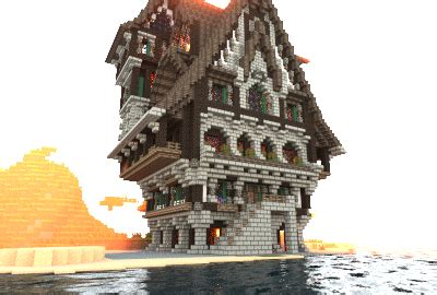 medieval town house creation