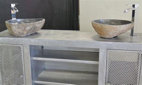 vasque de cuisine cool salle de bain avec meuble gris meuble vasque