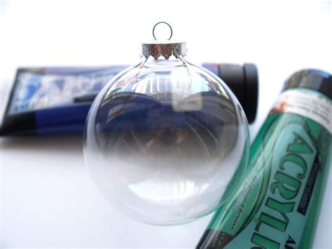 hand painted glass christmas ornaments