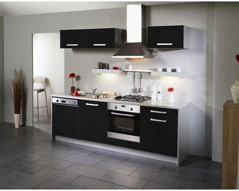 meuble cuisine noir laqué meuble haut cuisine noir laqué cuisine idées de