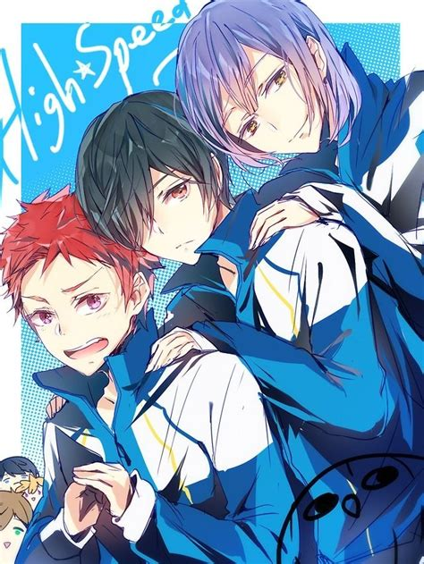 high speed light novel high speed free iwatobi swim club light