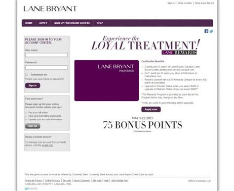 Check spelling or type a new query. Lane Bryant Credit Card Login | Make a Payment