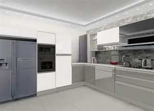 L, Shaped, Kitchen