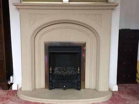composite fireplace gas composite surround hearth in
