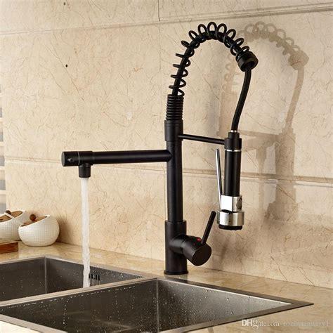 Rubbed Kitchen Faucets by 2019 Rubbed Bronze Kitchen Faucet Swivel Spout Single