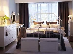 Ikea Metallbett Weiß : 17 tolle designs f r komplettes ikea schlafzimmer ~ Frokenaadalensverden.com Haus und Dekorationen