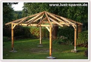 Holzpavillon Selber Bauen : pavillon holz flachdach selber bauen ~ Orissabook.com Haus und Dekorationen