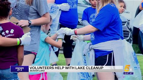 They constructed the dam that formed fort parker lake and the buildings and roads in the park. Volunteers Participate In Beaver Lake Clean Up Event ...