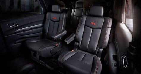 2013 Suv With Second Row Captain Chairs by 2014 Dodge Durango R T With Available Second Row Fold And