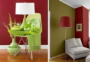 Combinar el rojo con verde en decoración : PintoMiCasa com
