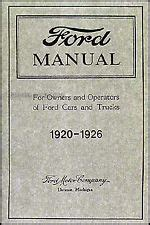 model  ford manual ebay