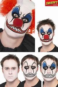 Maquillage Halloween Enfant Facile : set maquillage clown mechant maquillage halloween le ~ Nature-et-papiers.com Idées de Décoration