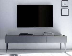 Meuble Tele Gris : meuble t l laqu gris ou blanc mat 3 tiroirs legos 2 ~ Teatrodelosmanantiales.com Idées de Décoration