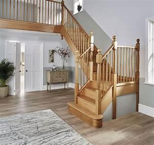 Oak, Staircase, Design