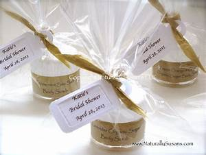 Bridal shower naturally susan39s parlour for Shower favors wedding