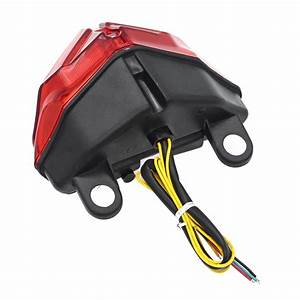 Red Led Tail Light Brake Turn Signal For Ducati 1098  1098r