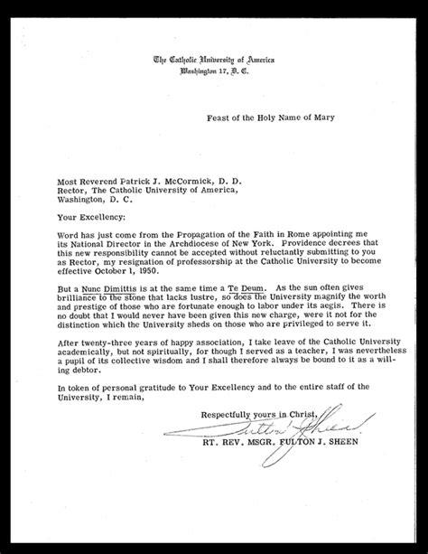 archive fulton sheen  catholic university  america