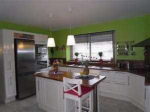 deco cuisine peinture murale deco sphair With decoration de cuisine en peinture