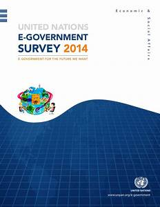 United Nations E-Government Survey 2014