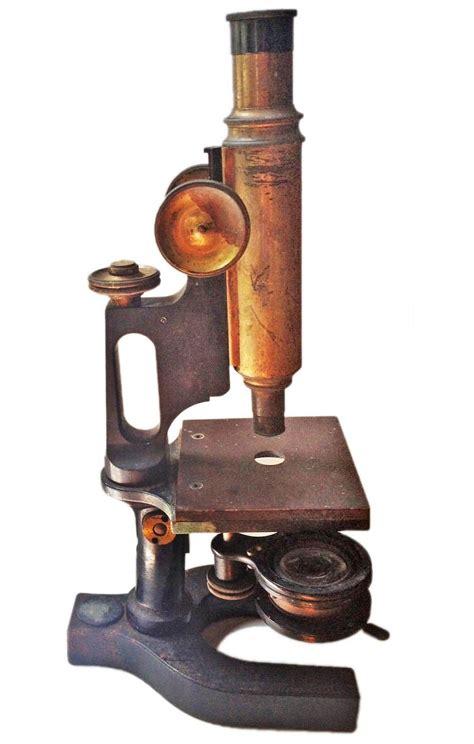 antique microscope omero home