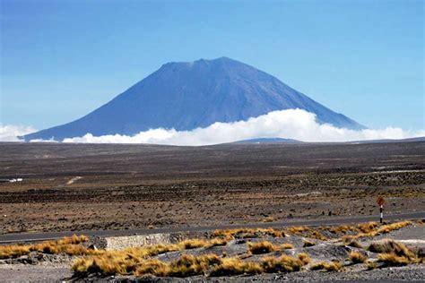 photo misti volcano  arequipa peru