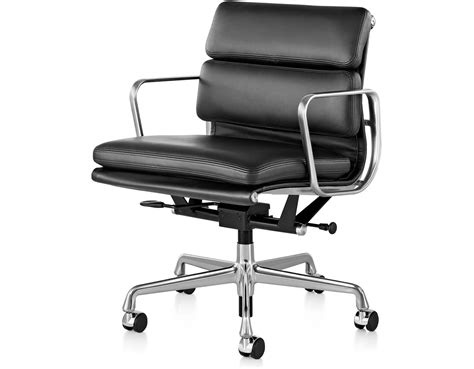 herman miller eames soft pad executive chair eames 174 soft pad management chair hivemodern