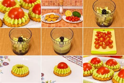 Krekeri ar avokado krēmu un tomātiem - Laiki mainās!