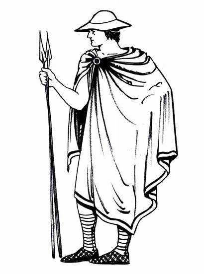 Ancient Greek Greece Clothing Clothes Chlamys Famous