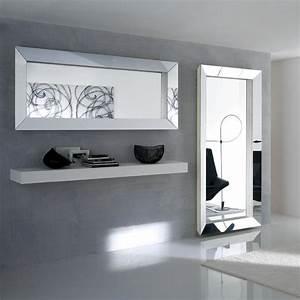 Miroir Mural Pas Cher : grand miroir mural pas cher adslev ~ Teatrodelosmanantiales.com Idées de Décoration