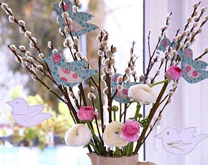 Frühlingsdeko Für Fenster Selber Machen by Fr 252 Hlingsdeko Basteln Ideen Zum Selbermachen Mit Stoff