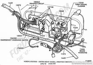 1972 ford turn signal switch wiring diagram wiring With diagram also fuse box diagram for 2002 ford thunderbird also f100 turn