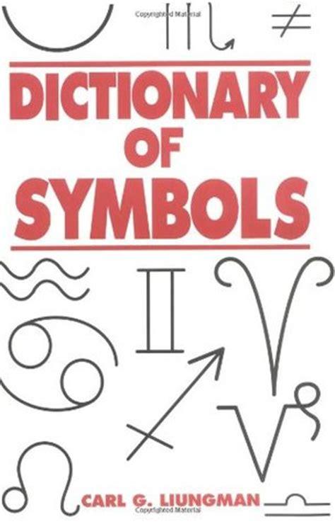 dictionary  symbols  carl  luingman reviews