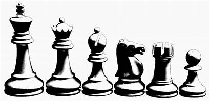 Chess Drawing Pieces Board Rapid Balkan 3rd