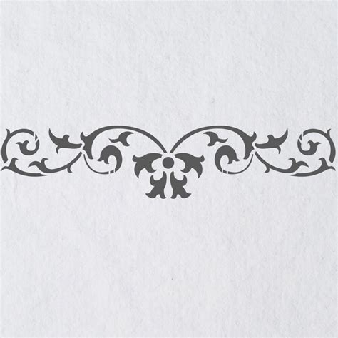 Templates For Stencils by Wall Stencils Border Stencil Pattern 067 Reusable Template