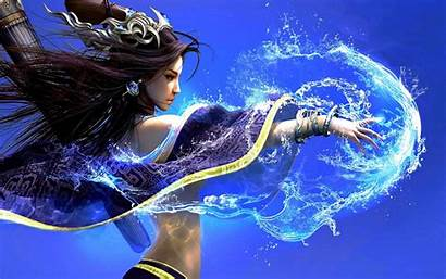 Fantasy Witch Spell Mage Magic Wallpapers Water