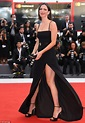 Rebecca Hall flashes her legs at Venice Film Festival ...