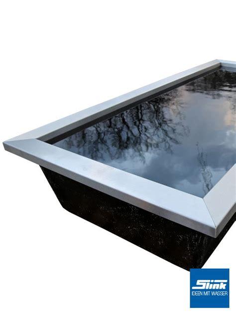ideen mit wasser gartenbrunnen wasserbecken