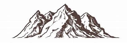 Mountain Illustration Estes Park Colorado Hotel